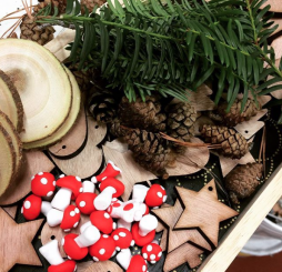 Atelier DIY enfants – Décorations de Noël « Nature »