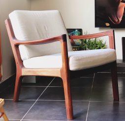 Restauration fauteuil Ole Wanscher
