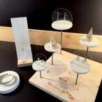 Présentoirs bijoux pour Mélissa Cortèse Joaillerie