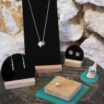 Présentoirs bijoux pour Mélissa Cortèse Joaillerie – Boutique